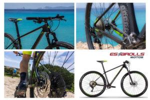 Servicio de alquiler de bicicleta Es Brolls Motos