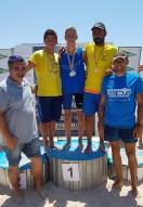 360 Nadadores han disfrutado de un magnífico día de Aguas Abiertas.