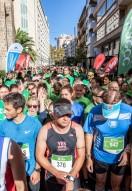Un año más la marea verde de corredores ha inundado las calles de Palma de solidaridad con el objetivo de fomentar hábitos de vida saludable y recaudar fondos que se destinen íntegramente a la investigación en cáncer.